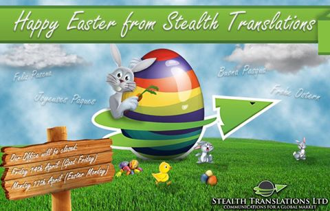 Happy Easter from Stealth Translations